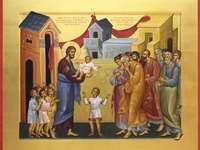 Hristos și copiii