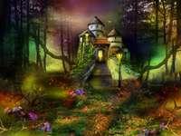 Приказен замък в приказната гора - Приказен замък в приказната гора
