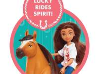 Spirit y Lucky toys palomino bluffs