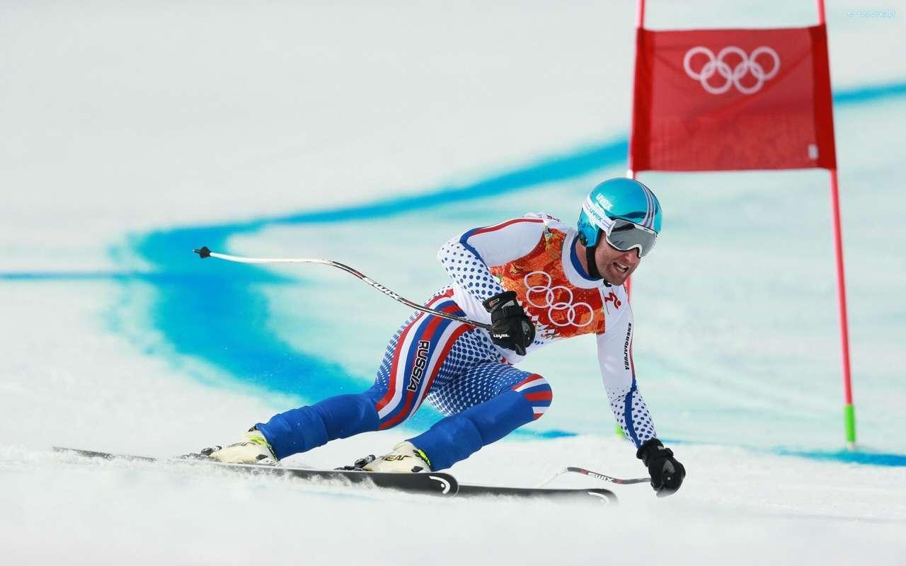 Esquiador, Olimpíadas, Sochi 2014