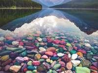 Lake Mcdonald ΗΠΑ - Η λίμνη McDonald είναι η μεγαλύτερη λίμνη στο εθνικό πάρκο