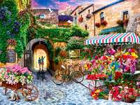 Blommamarknad