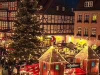 Коледен пазар в град