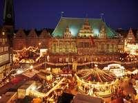 Julmarknad i Düsseldorf