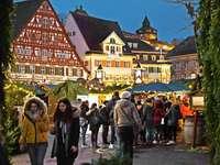 Julmarknad i Esslingen