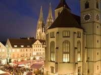 Piața de Crăciun din Regensburg