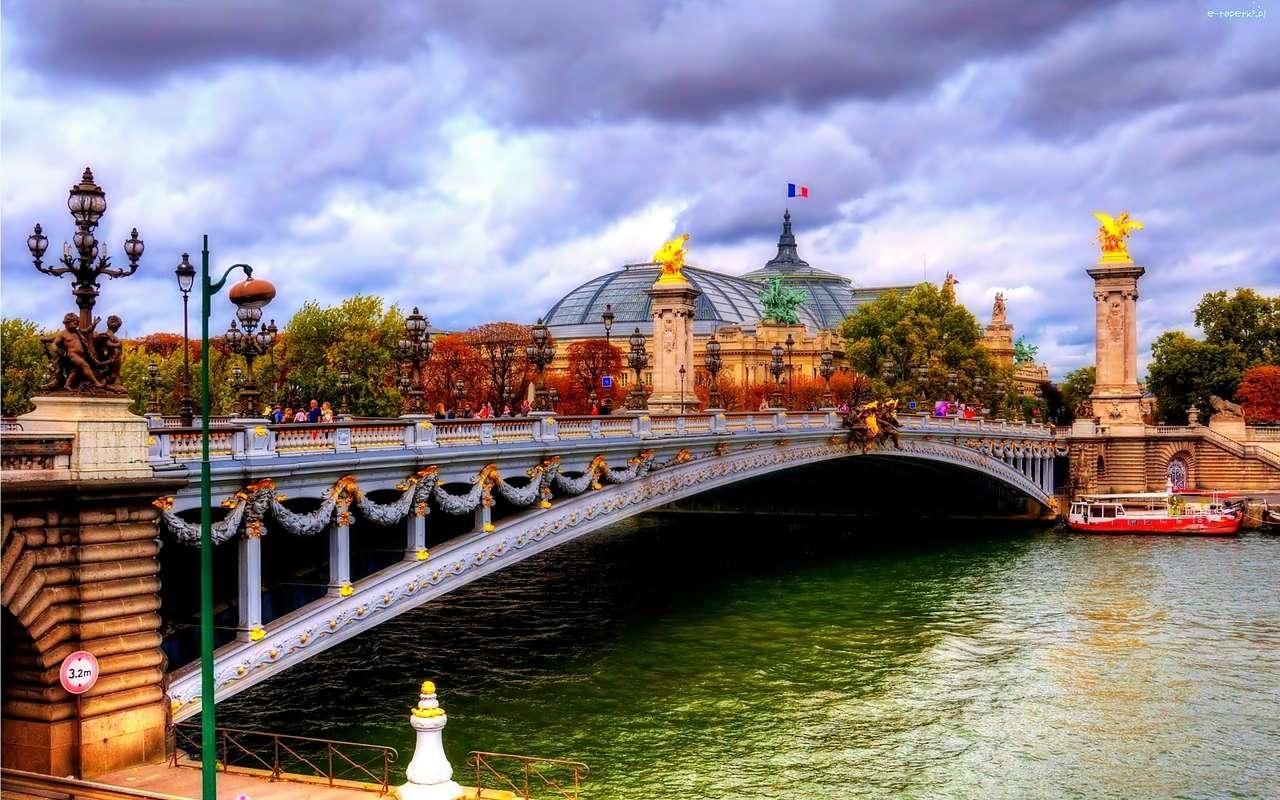 die Seine von Paris - m (14×9)