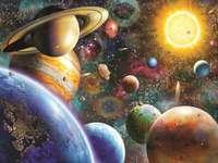 Universum-zonnestelsel - U zult zeker genieten van deze charmante foto van het universum ... :)