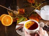 chá de outono