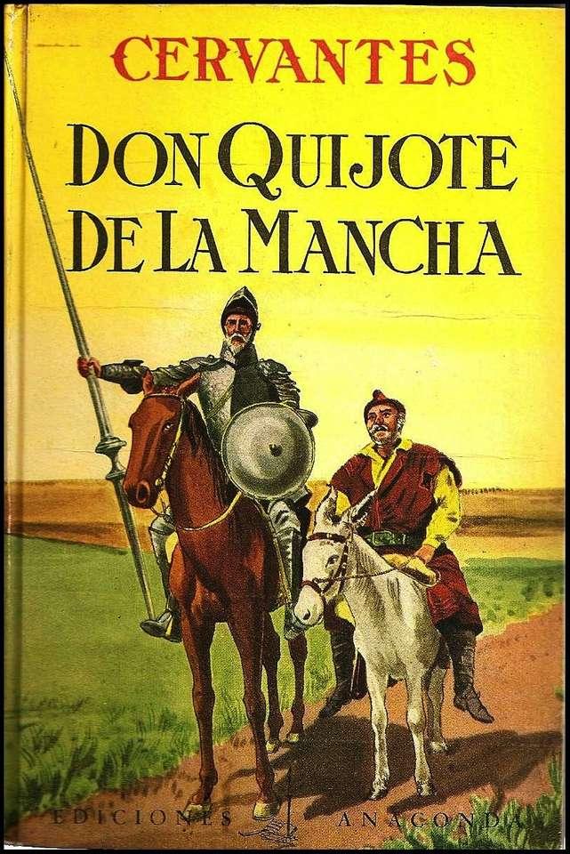 Okładka Don Kichota de la Manchy
