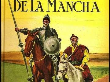 Don Quijote de la Mancha borítója