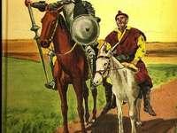 Obálka Dona Quijota de la Mancha