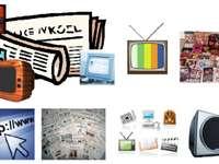 Några media - Element som används för att informera och kommunicera.