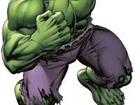 Hulk, o homem incrível - Herói dos quadrinhos de ação da Marvel