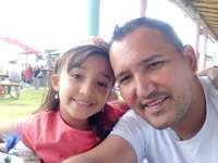 Debanhi Michelle Gonzalez - Puzzle with my daddy.
