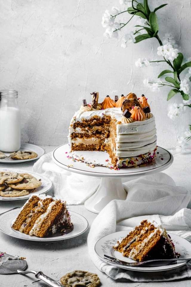Ciasto Ciasto Dyniowe - To Zdjęcie Przepisu Ciasto (6×9)