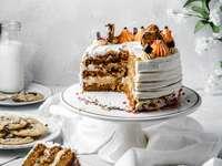 Tök sütemény tészta sütemény