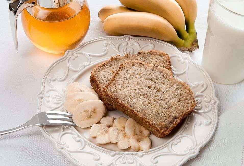 Pão e banana - Pão com banana e leite (13×9)