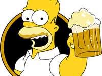 Homer Simpson vom Fuchs