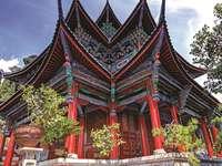 chrám v Číně