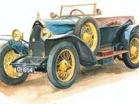 Mașină Bugatti - grupă de vârstă mare