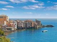 Bastia kikötőváros Korzikán