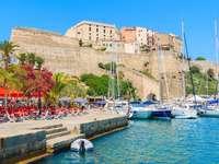Ville portuaire de Calvi en Corse