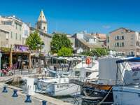 St. Florent stad in Corsica - St. Florent stad in Corsica