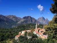 Zonza város Korzikán