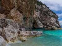 Peisajul de coastă din Corsica