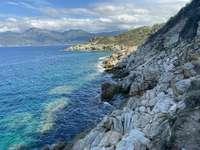 Küstenlandschaft von Korsika