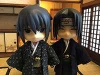 Sasuke e Itachi de quimono - Sasuke e Itachi de quimono