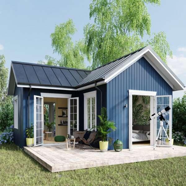 синя къща - м (10×10)