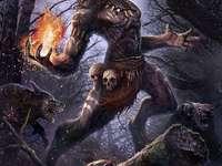 Wilkołak Werewolf - Wilkołak Werewolf Monster