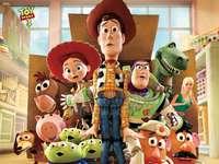 PUZZLE BAUTI - Låt oss sätta ihop Toy Story-pusslet