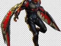 Hawkman Marvel - Ele é o amigo e companheiro nas batalhas do Capitão América