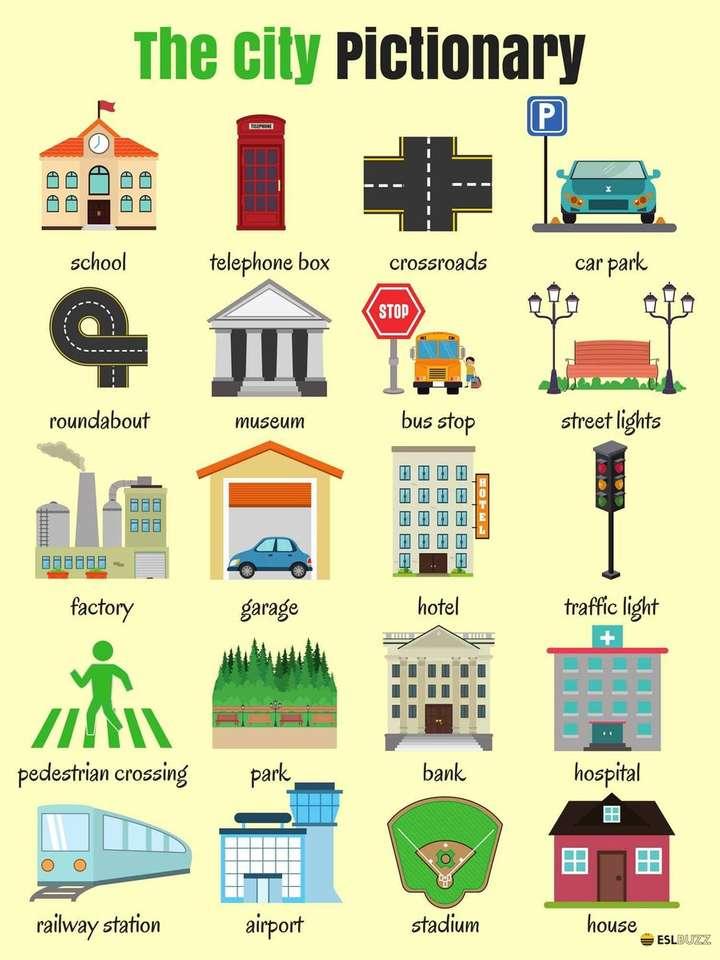 THE CITY - RECOGNIZES SOME ESTABLISHMENTS IN THE CITY (5×7)