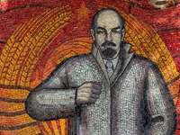 man canvas painting - Lenin, Sukhum, Abkhazia