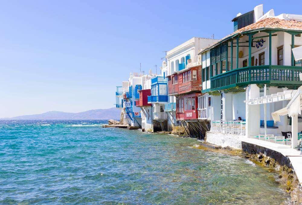 görögország - Mykonos online rejtvény