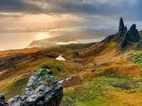 bergpanorama - wonderen van de natuur - ================