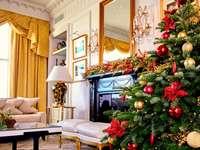 Decoratie in de kersttijd