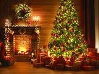 Décoration à la saison de Noël