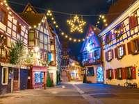 Kersttijd in Colmar
