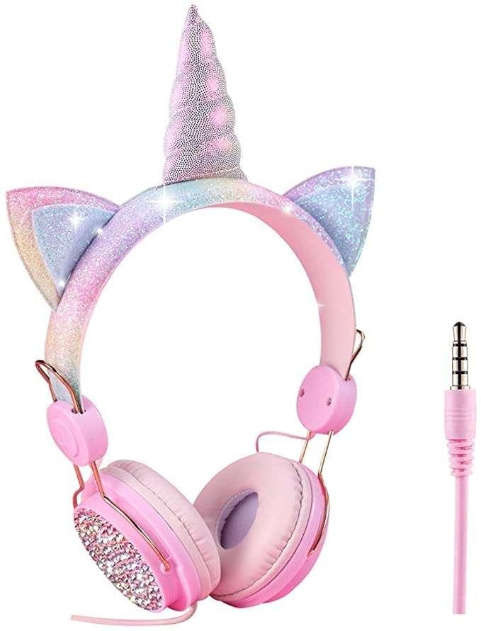 fones de ouvido unicórnio (7×10)
