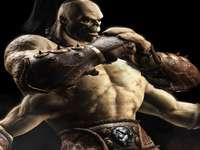 Mortal Kombat-foto - Hij is het vierarmige beest dat in de film tegen Johnny Cage vocht