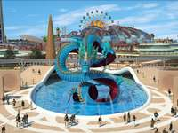 Fairytale World themapark in China.