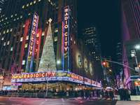 Time Square, New York - Radio City Music Hall, New York, USA
