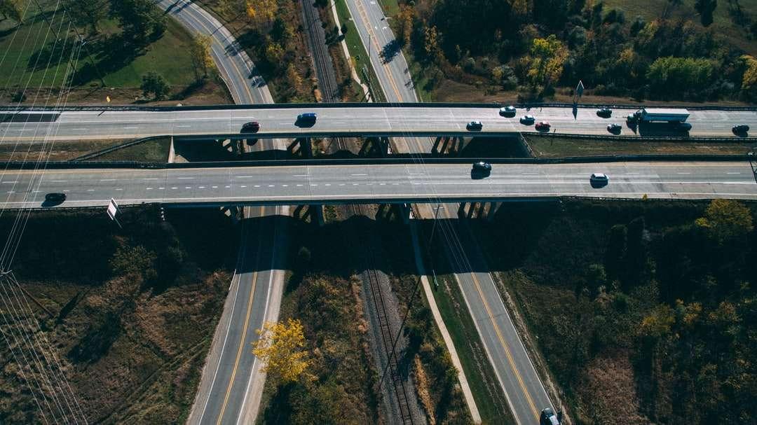fotografia aerea dell'autostrada - Fenton, Stati Uniti (8×5)