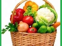 Cosul cu legume