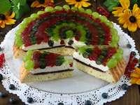gyümölcsös torta